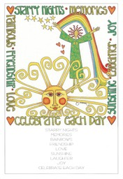 Card Poster CELEBRATE EACH DAY