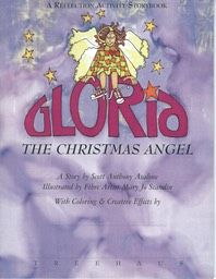 GLORIA Christmas Angel Reflect Activity Book