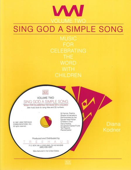 SING GOD SIMPLE SONG Vol 2 w CD
